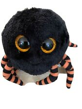 Ty Beanie Boos Set of 2 ~ CRAWLY the Spider NEW MWMT/'S 6 Inch Black /& Purple