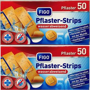 100-x-Pflaster-Wundpflaster-Wundverband-Pflasterverband-Verband-Wasserfest