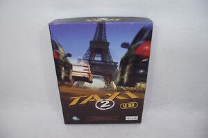 TAXI-2-le-jeu-Coffret-PC-Ubisoft-CD-rom-notice-Course