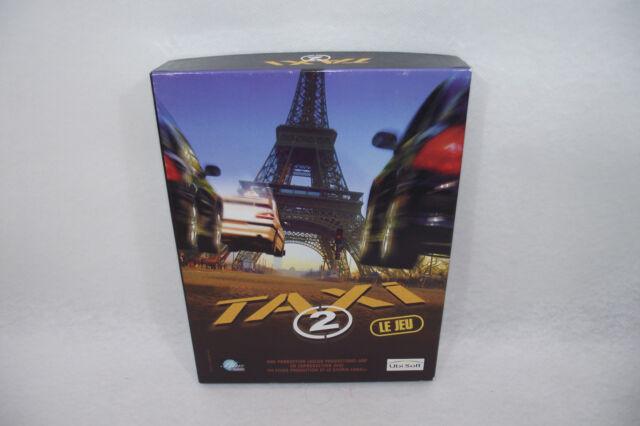 TAXI 2 le jeu Coffret PC Ubisoft CD-rom + notice Course