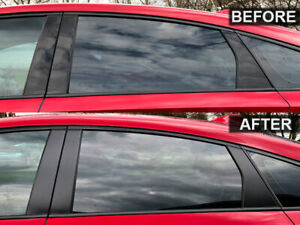 2018-2019 Accord Air Release Tail Light Overlays 50/% Tint NO BUBBLES!
