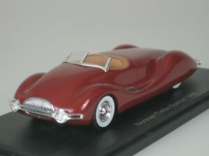 Norman-Timbs-Buick-Special-Concept-Car-1948-Dark-Red-1-43-Neo-46475-New
