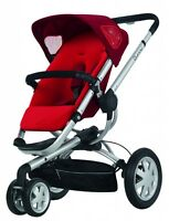 Quinny 2015 Buzz Xtra 2.0 Stroller Red Rumor Open Box