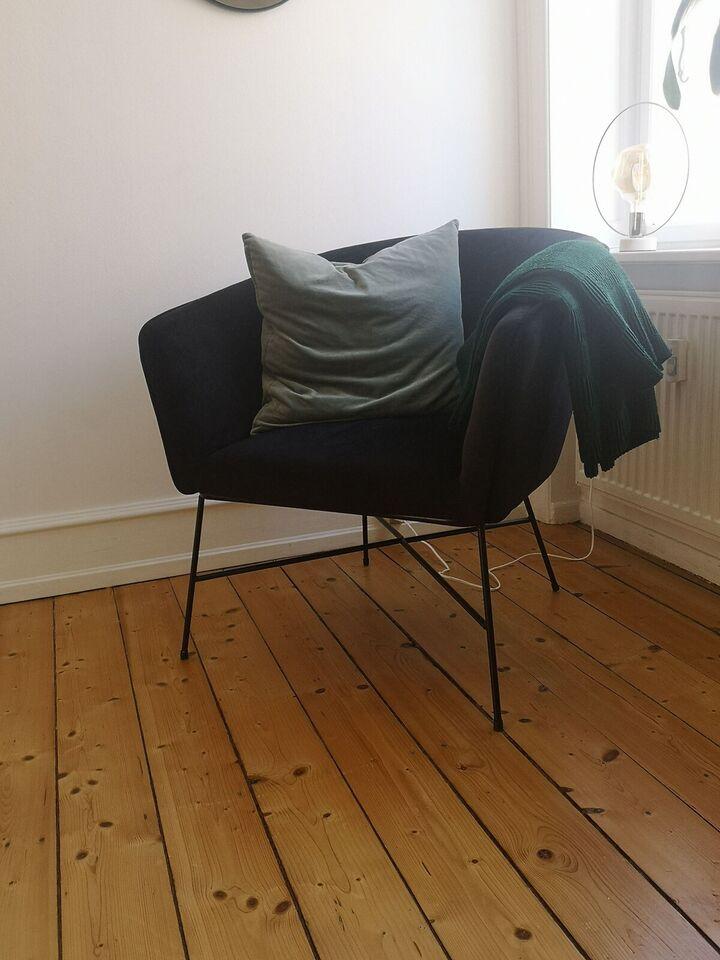 Lænestol, velour, Ellos – dba.dk – Køb og Salg af Nyt og Brugt