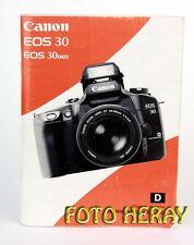 Canon EOS 30, EOS 30 DATA die originale Bedienungsanleitung  02767