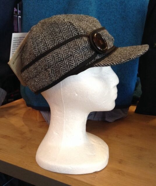 81bb5295f5f92 Stormy Kromer Women s Button up Cap With Harris Tweed Size 7 Ships ...