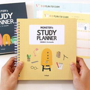 Indigo For 6 Months Monster S Study Planner Ver 2 Semester Diary