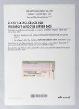 1 User / Benutzer CAL für Microsoft Windows Server 2008 - auch R2