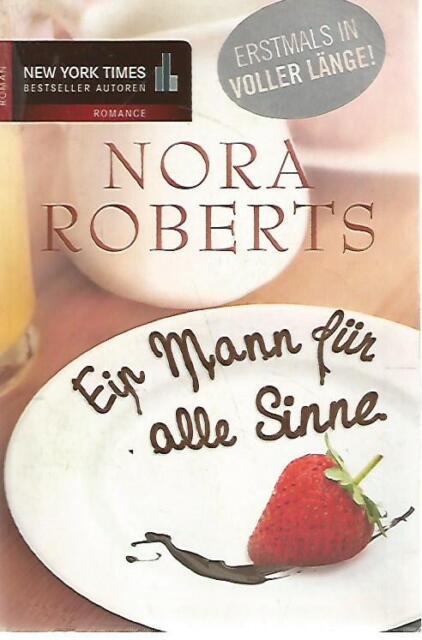 N73 Ein Mann fur alle Sinne Nora Roberts Mira ed. 1986 In tedesco