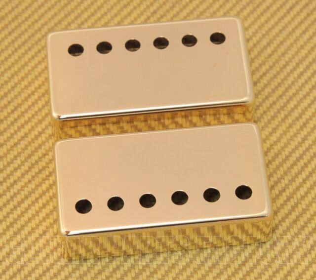 PC-0300-W02 Set Gold Humbucker Guitar Covers Modern Spacing Mixed 49 & 53