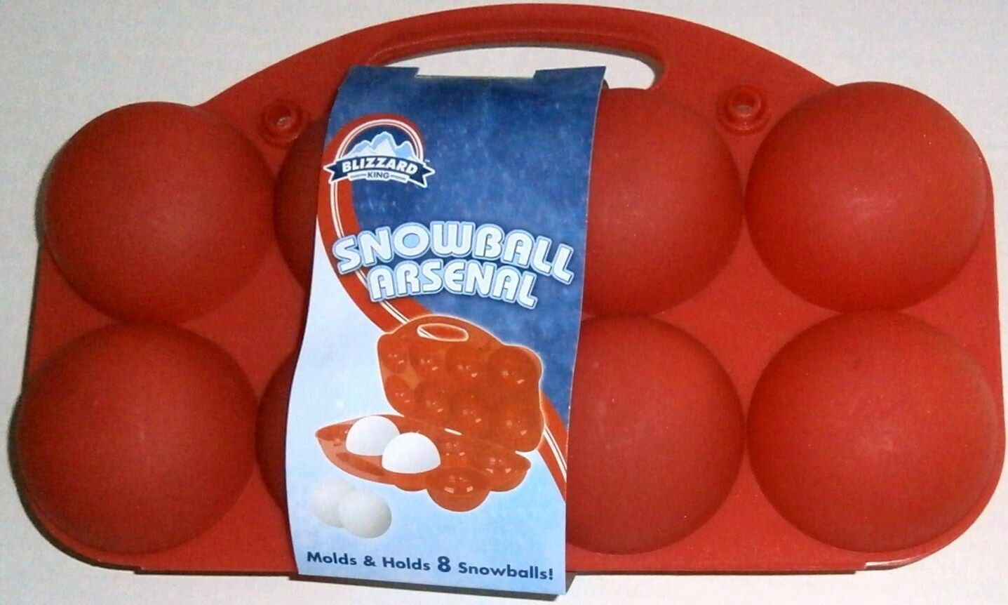 Blizzard Snowball Arsenal Molds and Holds 8 Snowballs Purple
