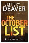 The October List by Jeffery Deaver (Paperback, 2013)