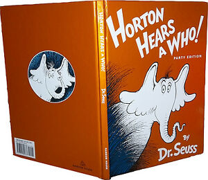 Dr Seuss Horton Hears A Who Book
