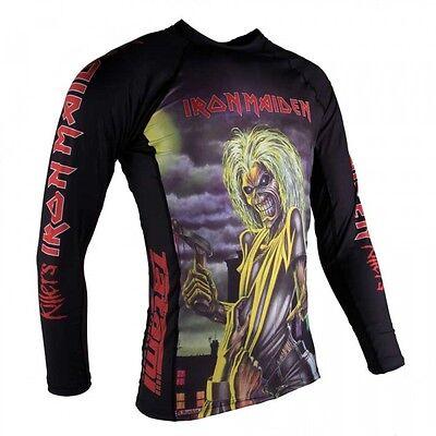 Tatami x Iron Maiden Killers BJJ Rash Guard Long Sleeve Brazilian Jiu Jitsu MMA
