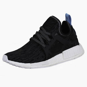 Adidas-Men-039-s-NMD-XR1-PK-Running-Shoes-S32215-Black-Bright-Blue-Size-8