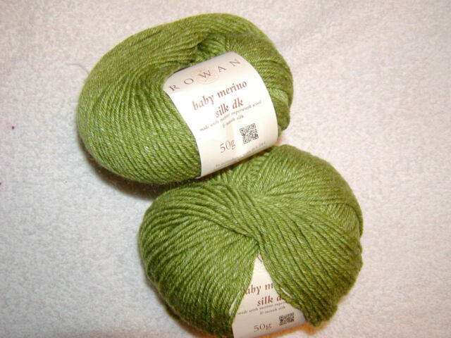 choice of 2 colors Rowan Baby Merino Silk dk Yarn