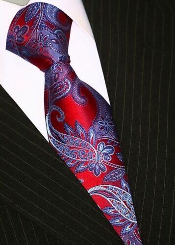 Cravates Cravate avec plastron Cravates Set Tie rouge 188 BINDER de LUXE
