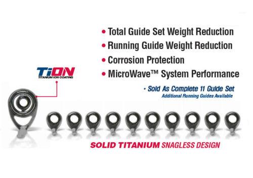 NGML-SET,Gunsmoke American Tackle MicroLite Micro Guides kit-Nanolite