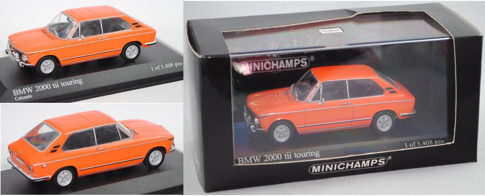 MINICHAMPS 400021110 BMW TOUbague 2000 spéciale, Couleurado, 1  43  en bonne santé