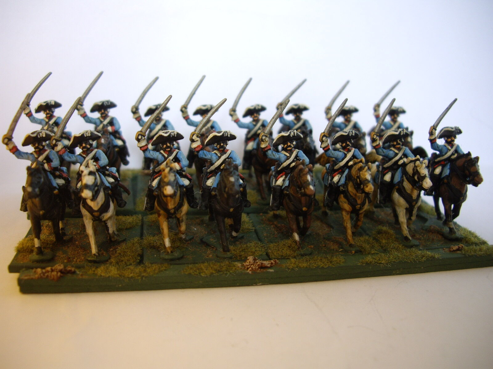 15mm 7YW Seven Years Wars Russian Dragoons. Minifigs