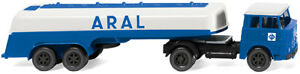 WIKING-080698-Trailer-Truck-Henschel-Hs-14-16-034-Aral-034-Car-Model-1-87-H0