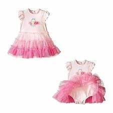 Little Me Baby Girls Popovers Tutu Dress