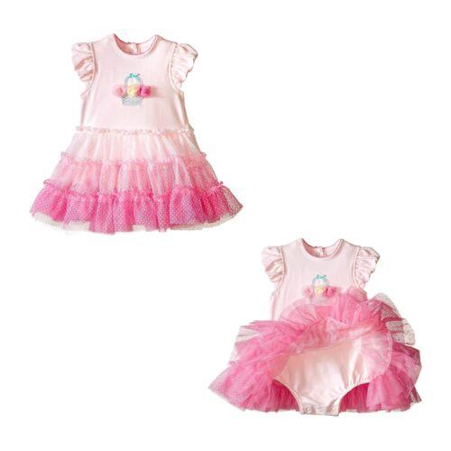 Little Me Baby Girls Popovers Tutu Dress