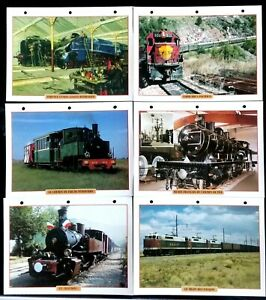 """Lot de 6 Fiches Trains Tourisme & Culture Ferroviaire; Le """"Mastrou""""- Pithiviers mfYk9g6W-08045149-387650925"""