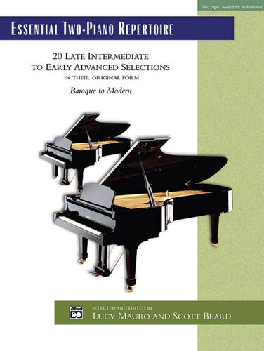 Piano duet Essential Two-Piano Repertoire; Mauro and Beard ALFRED 22507