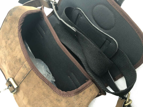 Thick Leather Shotgun Cartridge Bag 90 Shells by John Shooter England CLEARANCE