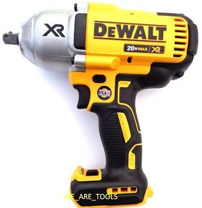 "New Dewalt 20V DCF899 Cordless Brushless 700 Lb 1/2"" Impact Wrench 20 Volt Pin"