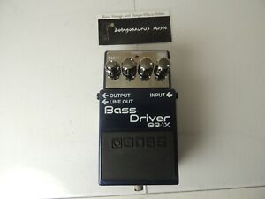 Boss BB-1x Bass Driver Overdrive Effects Pedal Free USA Shipping