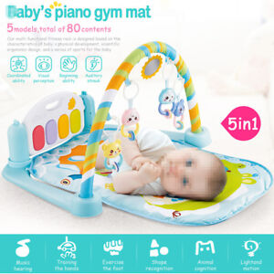 b73fa4677 5-in-1 Baby Gym Floor Play Mat Musical Activity Center Kick And Play ...
