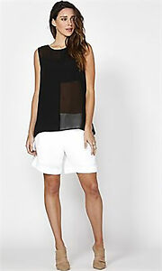 FATE-Black-Lucie-Tank-Top-Size-12-New