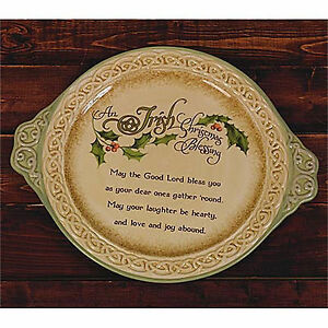 image is loading abbey press an irish christmas blessing platter holiday