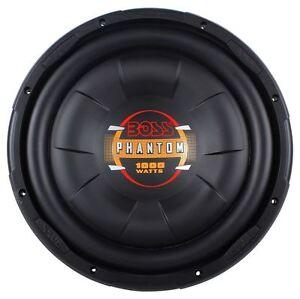 Boss D12f 12 1000 Watt Single 4 Ohm Slim Low Profile Car Audio