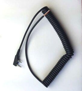 6-5ft-Mic-microphone-cord-cable-for-Motorola-Baofeng-Wouxun-KIRISUN-Ham-CB-radio