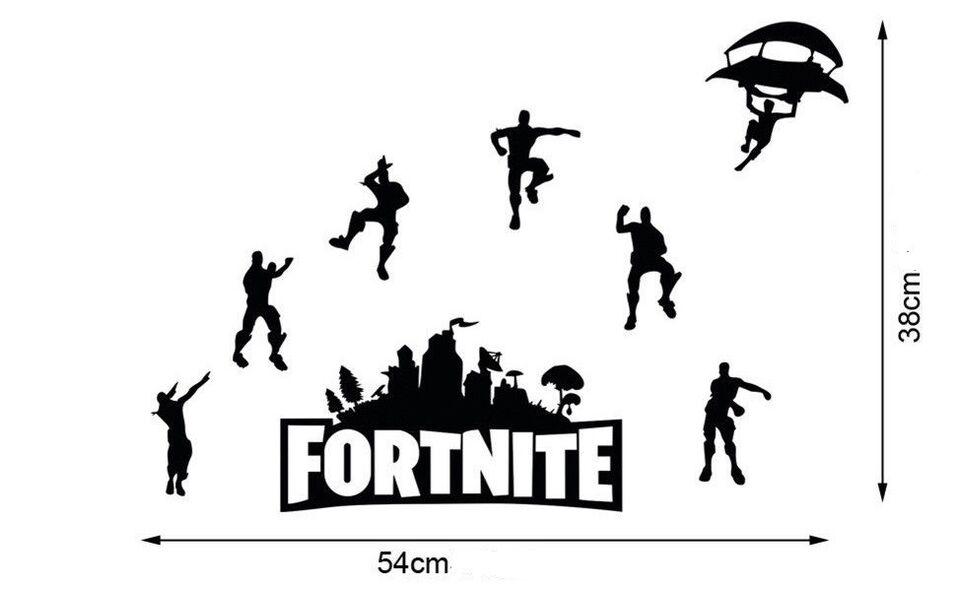 Wallstickers, Fortnite