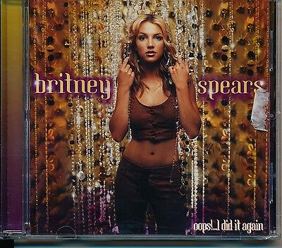 Oops!...I Did It Again - Britney Spears cd 15 track