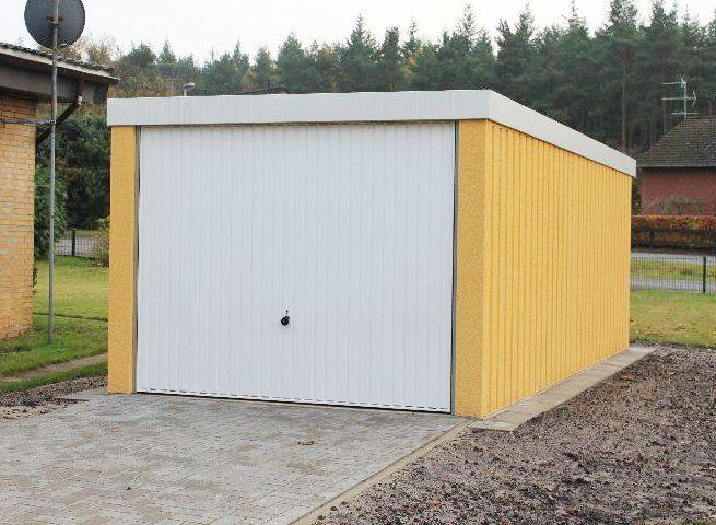 Profi+L Garage Auto Box Lager ca 2,7m x 5,6m profil verputzt Hörmann Tor