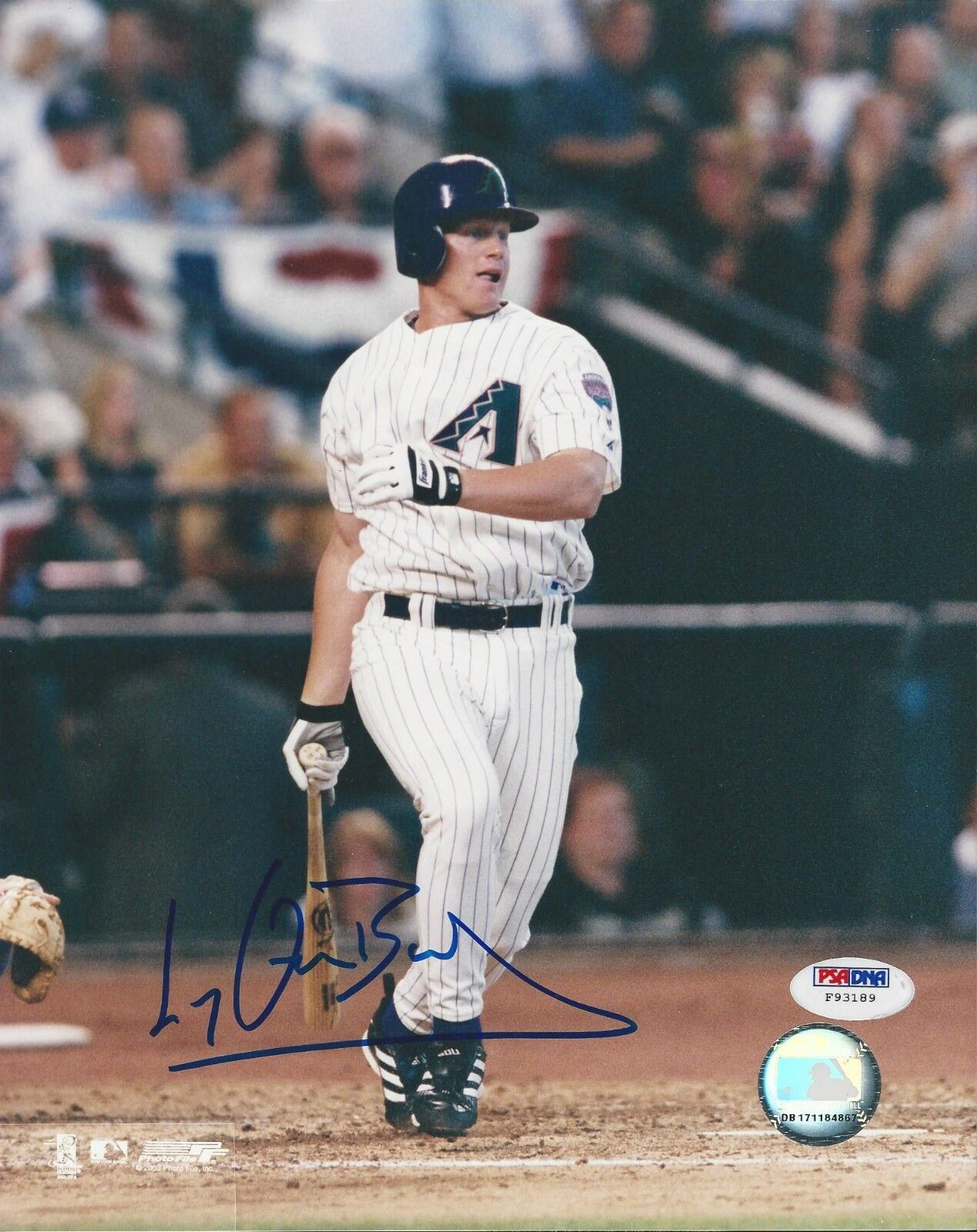 Lyle Overbay Arizona Diamondbacks signed 8x10 photo PSA/DNA #F93189