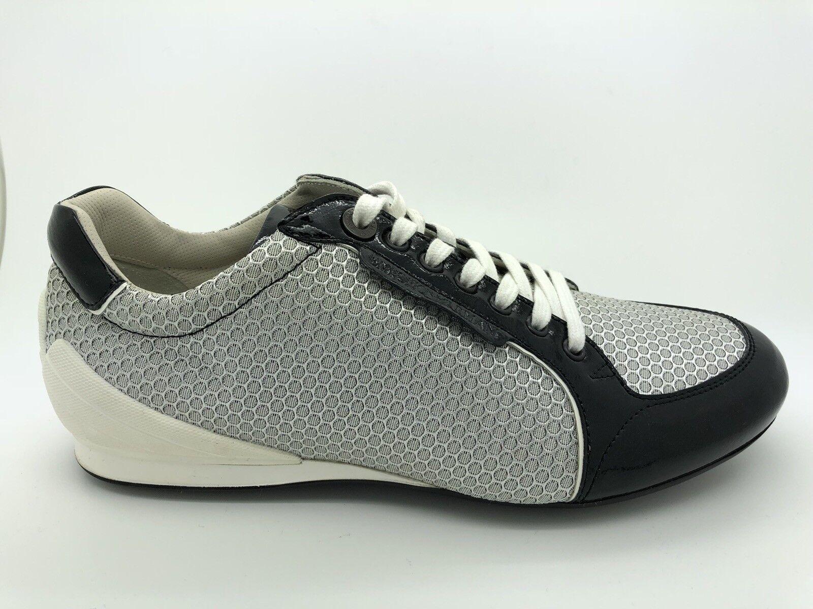350 Emporio Armani Negro Beige Zapatillas para hombre Talla