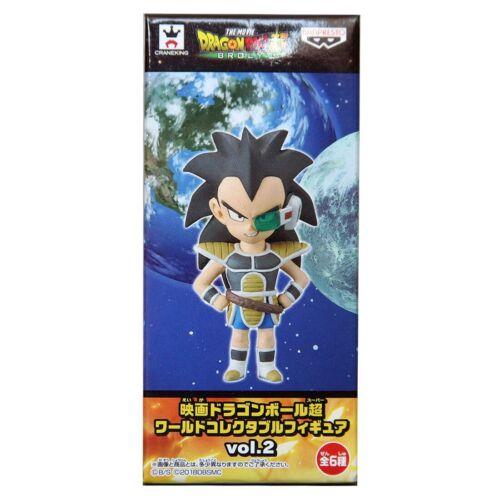 Banpresto Dragon Ball Super Movie World Collectable Figure Vol 2 Young Raditz
