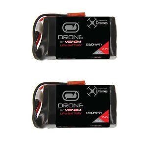 Venom-50C-2S-850mAh-7-4V-LiPo-Drone-Battery-with-JST-Plug-x2-Packs