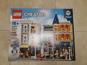 Lego Creator Expert Assembly Square (10255) - Brand New in Sealed Box