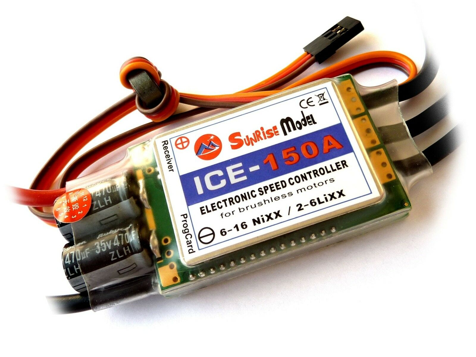 150a ice-Sunrise vuelo-Helicopter regulador 2-6 lipo programables los geniales