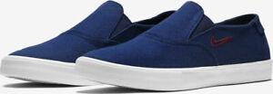 Nike-SB-Slip-On-Men-039-s-Trainers-UK-Size-7-EUR-41-Blue-Skate-Shoes