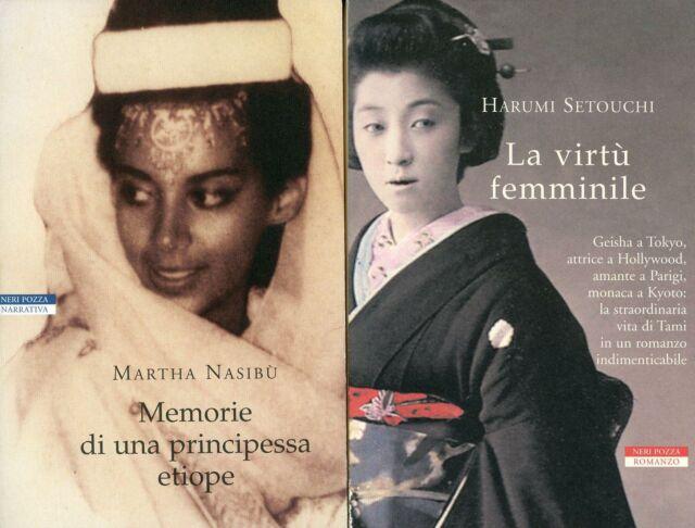 NASIBU', Martha. Memorie di una principessa etiope + altro libro stessa collana