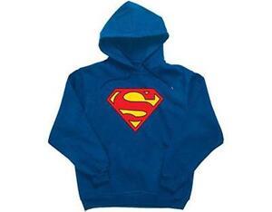 OFFICIAL LICENSED SUPERMAN CHRISTMAS HERO SWEATSHIRT KRYPTON