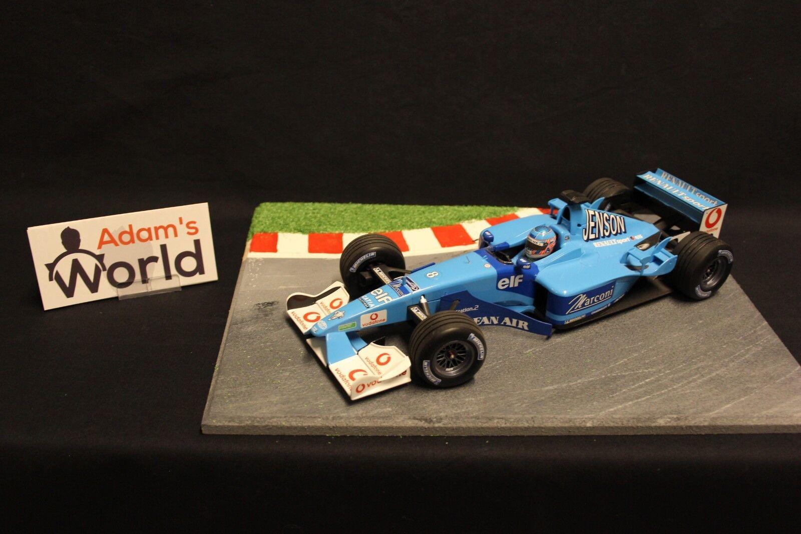 Minichamps Benetton Renault Sport B201 2001 1 18 Jenson Button (GBR) (F1NB)